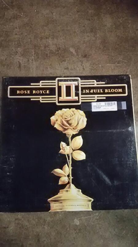 Rose Royce In Full Bloom Vinyl