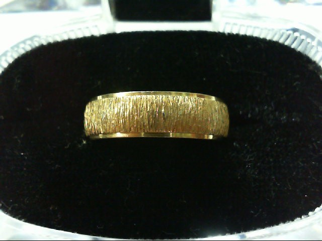 Lady's Gold Wedding Band 14K Yellow Gold 4.1g
