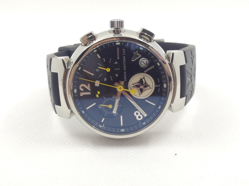 LOUIS VUITTON TAMBOUR Q11BG CUP LIMITED EDITION CHRONOGRAPH