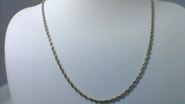 Gold Rope Chain 14K White Gold 6.36g