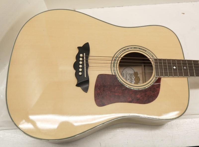 WASHBURN Acoustic Guitar D34S Augusta & Hard Case