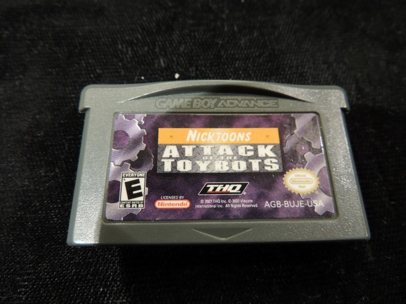 NICKTOONS ATTACK OF THE TOYBOTS - GAMEBOY ADVANCED GBA