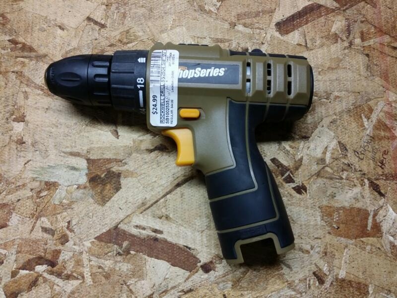 ROCKWELL Cordless Drill SS2504