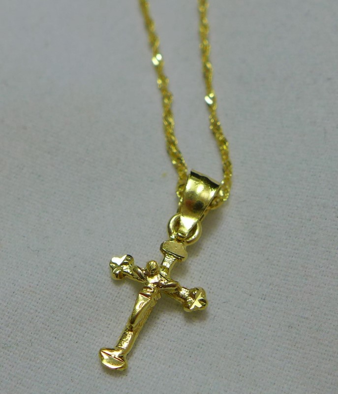 Gold Chain 14K Yellow Gold 1.3g