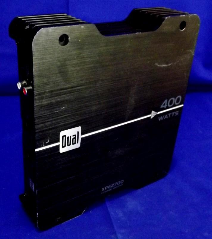 DUAL XPE2700 2 CHANNEL 400 WATT AMP