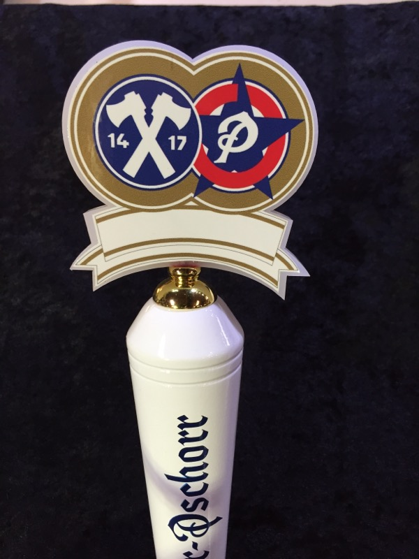 HACKER PSCHORR BEER TAP HANDLE