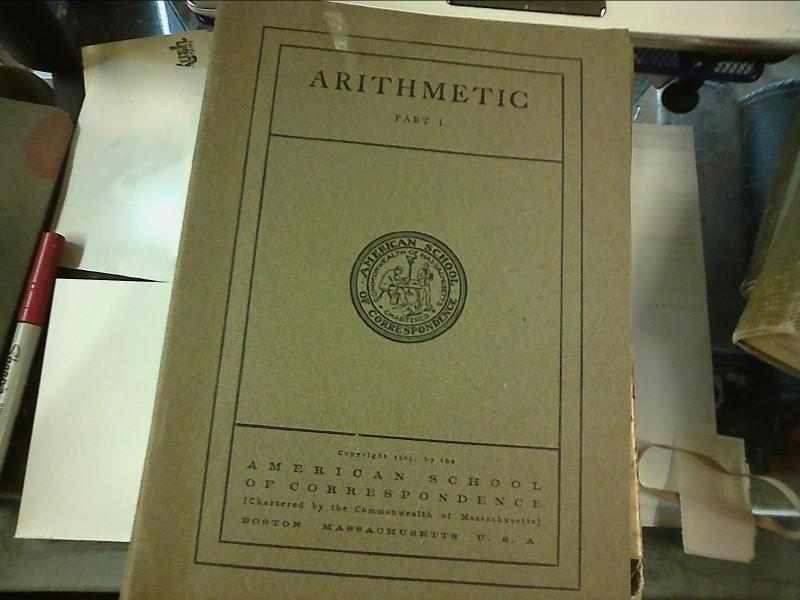 AMERICAN SCHOOL OF CORRESPONDENCE Non-Fiction Book BOOKS