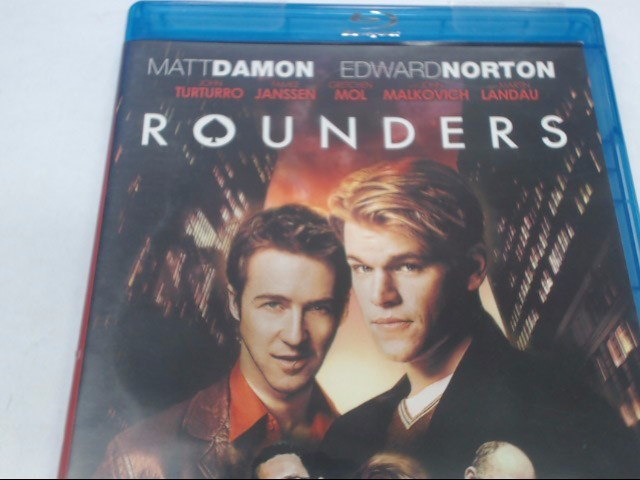 ROUNDERS - BLU-RAY MOVIE