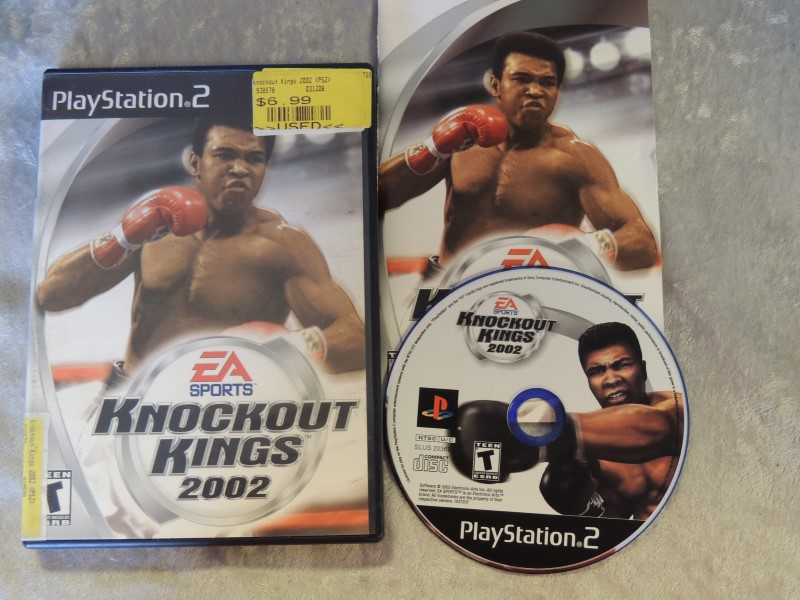 SONY PS2 GAME - KNOCKOUT KINGS 2002