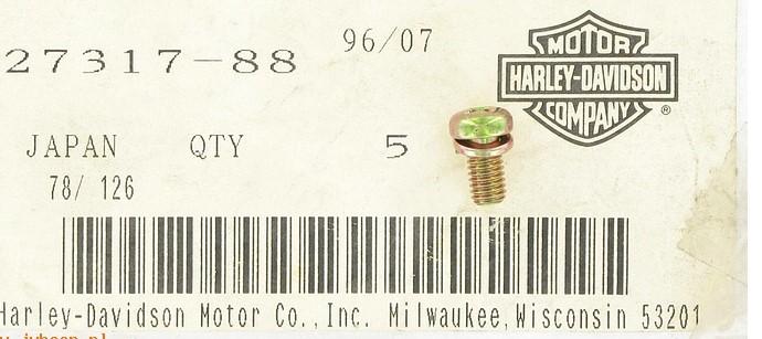 HARLEY DAVIDSON 27317-88 CARB SCREW BT/XL **SOLD BY 1 EACH**