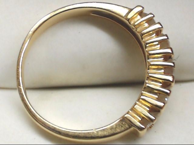 Lady's Diamond Wedding Band 5 Diamonds .75 Carat T.W. 14K Yellow Gold 3.2g