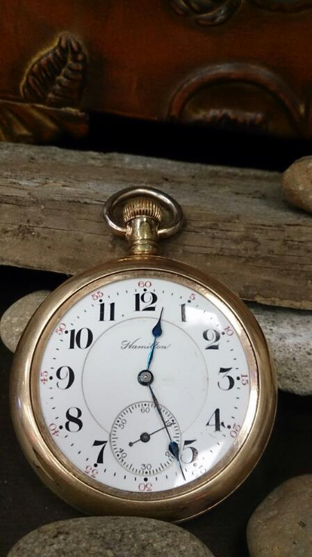 HAMILTON Pocket Watch VINTAGE POCKET WATCH