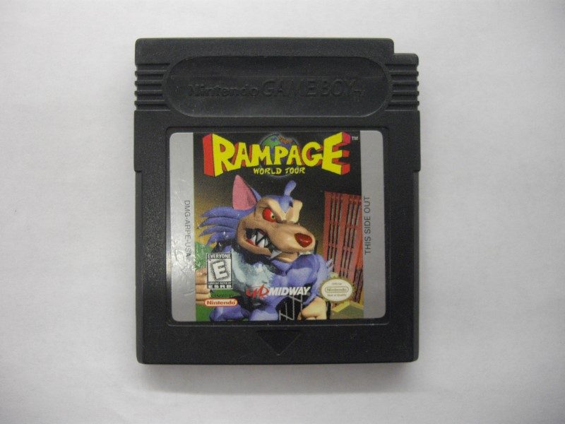 NINTENDO GAMEBOY COLOR RAMPAGE WORLD TOUR *CARTRIDGE ONLY*