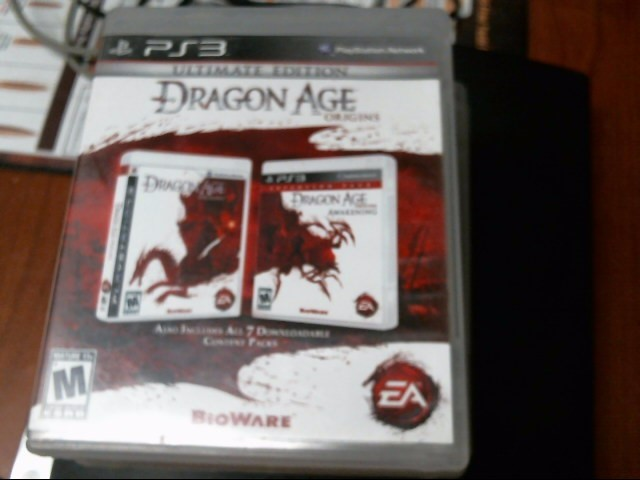 SONY PS3 DRAGON AGE ORIGINS