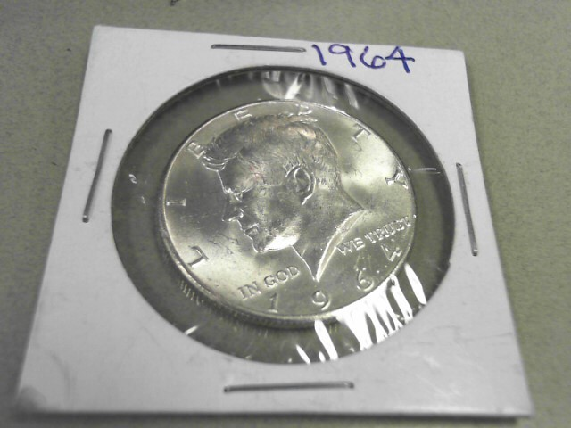 1964 KENNEDY HALF DOLLAR 12.43GRAMS