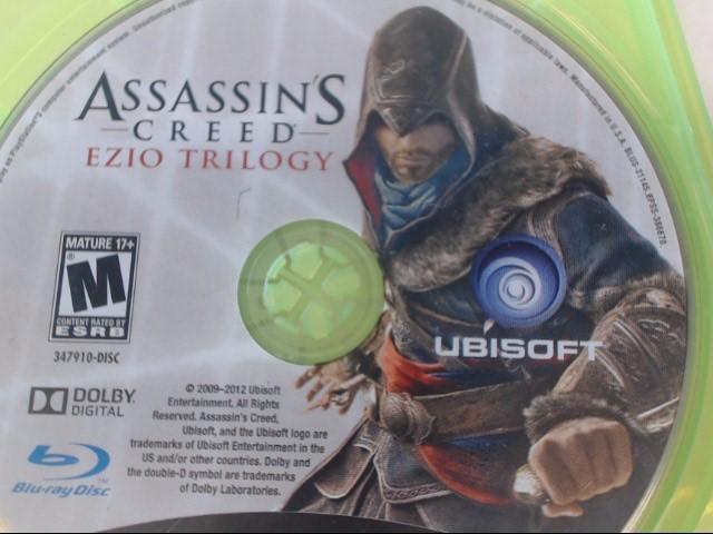 XBOX 360 ASSASSIN'S CREED EZIO TRILOGY