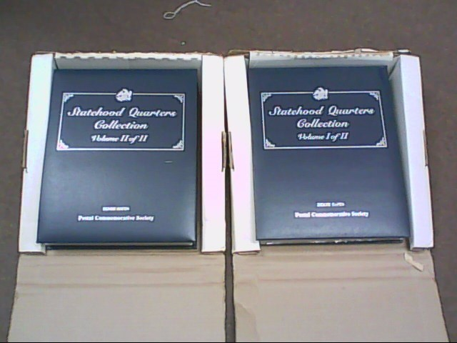 UNITED STATES Coin 50 STATEHOOD QUARTERS & STAMP COLLECTION POSTAL COMMEMORATIVE
