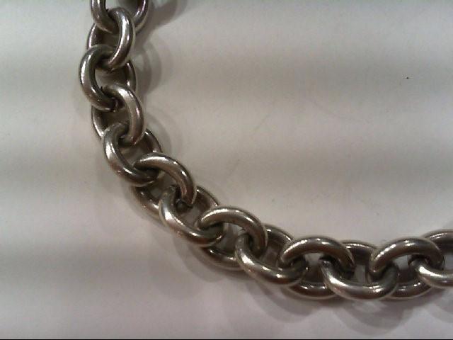 Silver Link Bracelet 925 Silver 23g