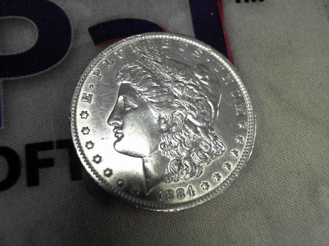 UNITED STATES Silver Coin 1884 O MORGAN DOLLAR