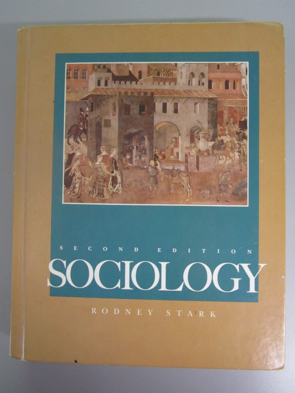 SOCIOLOGY, SECOND EDITION, 1987