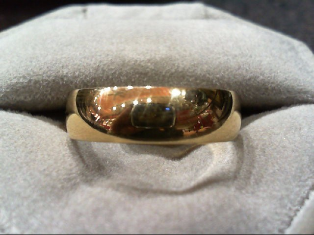 Gent's Gold Ring 14K Yellow Gold 5.1g Size:11