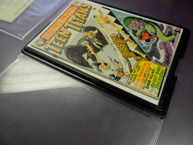 DC COMICS TEEN TITANS #1 - 1966 - AUTOGRAPHED BY NICK CARDY W/ COA