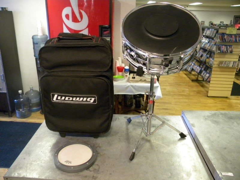 Ludwig Snare Drum and Accessories