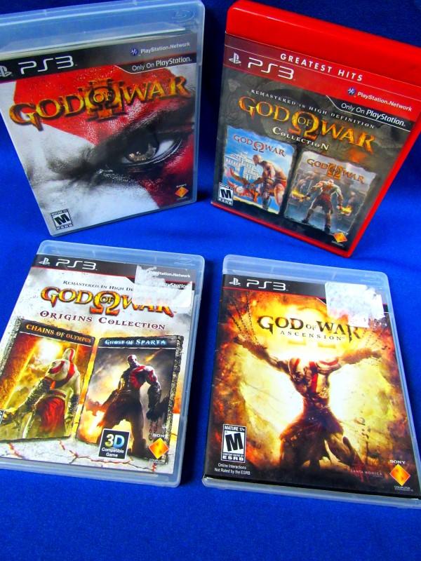 PS3 GOD OF WAR SET