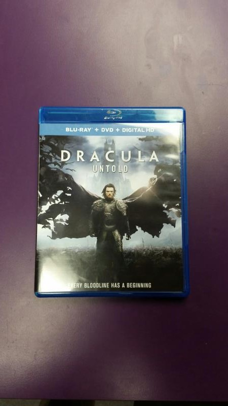 DVD MOVIE  DRACULA UNTOLD