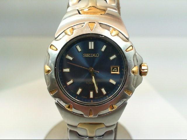 SEIKO Lady's Wristwatch 7N82-6E6O