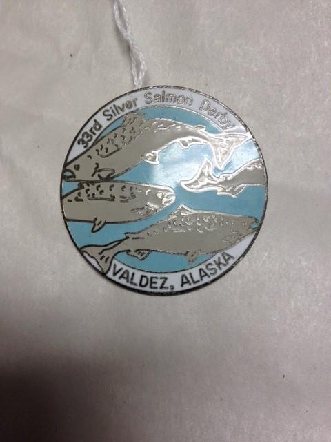 33RD SILVER SALMON DERBY VALDEZ PIN