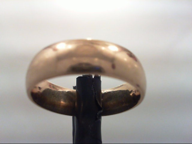 Gent's Gold Wedding Band 14K Yellow Gold 8.9g Size:9