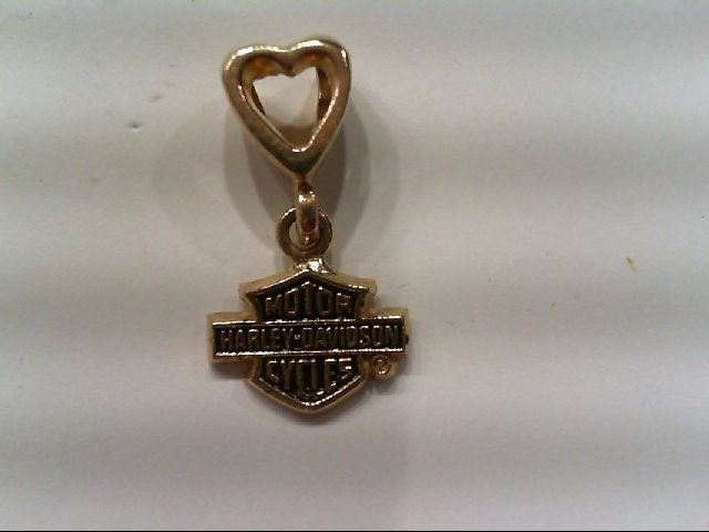 Gold Pendant 10K Yellow Gold 1.2g