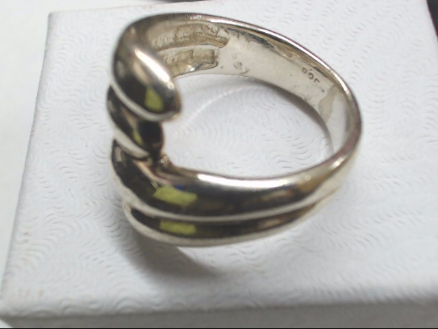 Lady's Silver Ring 925 Silver 7g Size:7