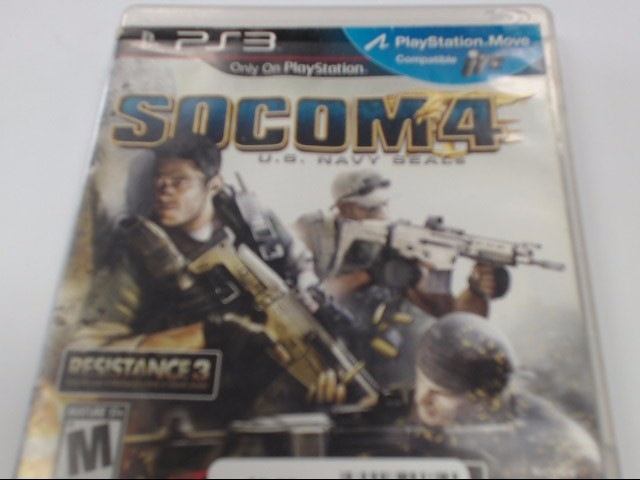 SONY PLAYSTATION 3 - SOCOM 4