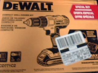 DEWALT Cordless Drill DCD771C2