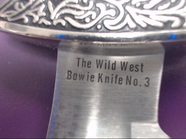 THE WILD WEST BOWIE KNIFE NO. 3 DAVY CROCKETT