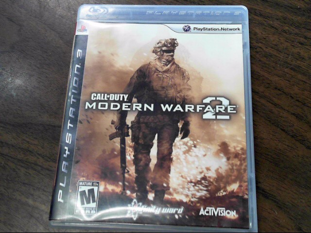 SONY Sony PlayStation 3 Game CALL OF DUTY MODERN WARFARE 2 - PS3