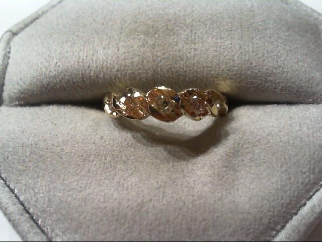 Lady's Diamond Wedding Band 5 Diamonds .20 Carat T.W. 14K Yellow Gold 2.3g