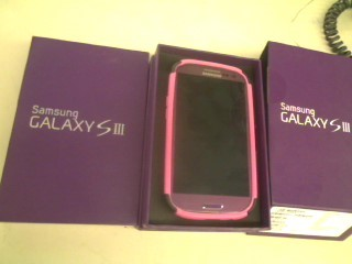 SAMSUNG Cell Phone/Smart Phone GALAXY SIII - SPH-L710