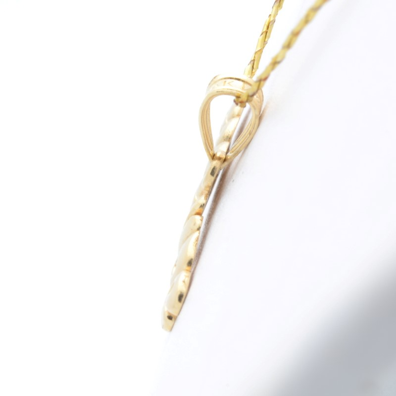 SOLID 14K YELLOW GOLD FRIENDS PENDANT CHARM GIFT PRESENT BEST FINE