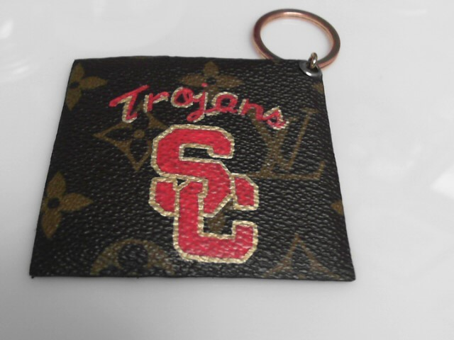 LOUIS VUITTON REPURPOSED PUFFED USC CHARM / KEY
