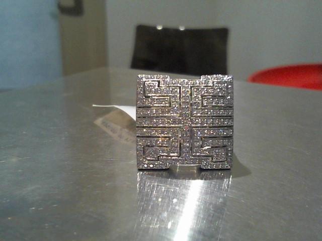 Lady's Gold Ring 14K White Gold 14g