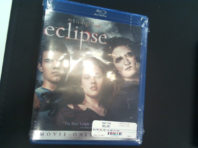 BLU-RAY MOVIE Blu-Ray THE TWILIGHT SAGA ECLIPSE