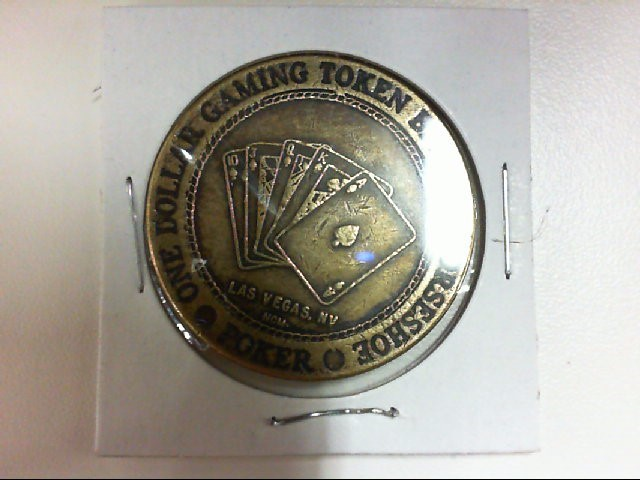 1$ HORESHOE GAMING TOKEN L.V.