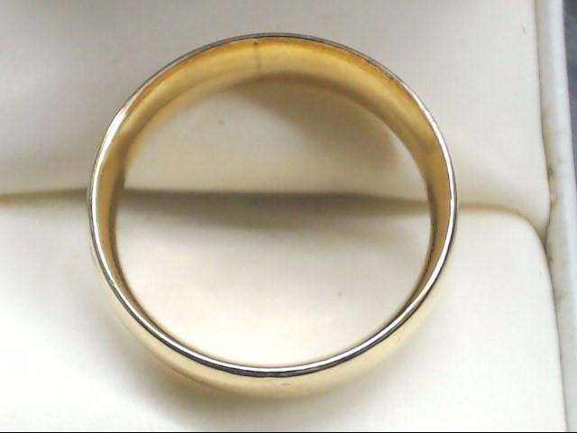 Lady's Gold Wedding Band 14K Yellow Gold 6g Size:8.5