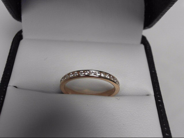 Eternity Band 64 Diamonds .64 Carat T.W. 14K Yellow Gold 1.3g Channel Set S.4.75