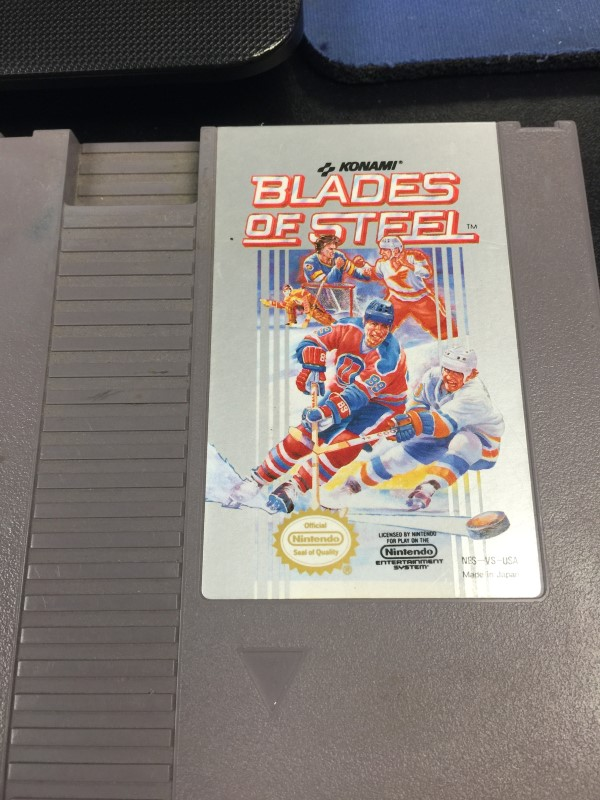 NINTENDO Blades of steel NES