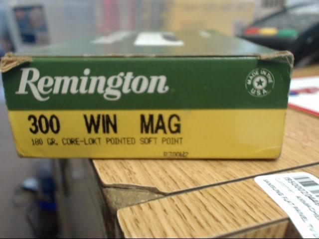 REMINGTON Ammunition 300 H&H MAGNUM 180 GR