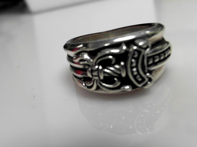 Chrome Hearts Sterling Silver Ring 18.6 Size 13